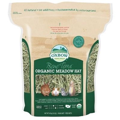 Oxbow Heno Ecologico de pradera para conejos y roedores 425 gr