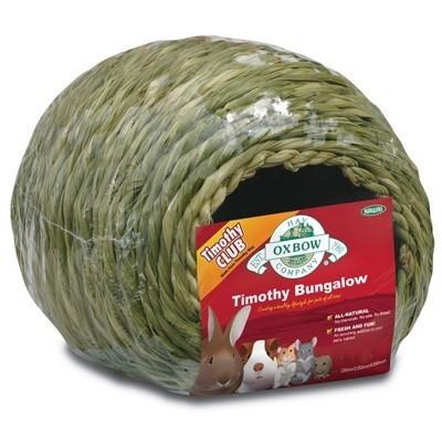 Oxbow Bungalow juguete comestible de heno Timothy para conejos y roedores