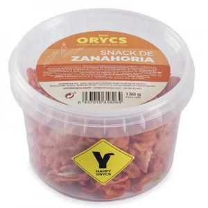 MiniOrycs Snack de zanahoria para conejos y cobayas