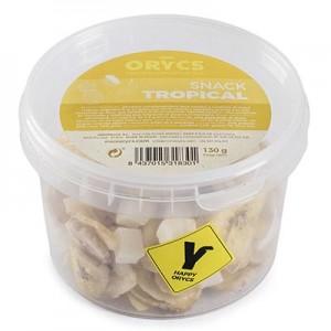 MiniOrycs Snack Tropical para conejos y cobayas