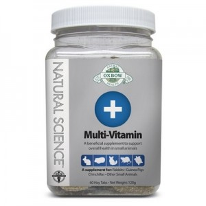 Oxbow Natural Science Suplemento Multi-Vitaminas para roedores