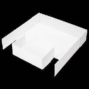CagesCubes - Base Coroplast para LOFT 2X2 de 2 Escaleras