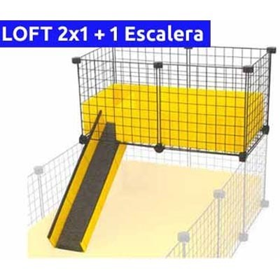 CagesCubes - KIT completo para LOFT 2x1 con escalera