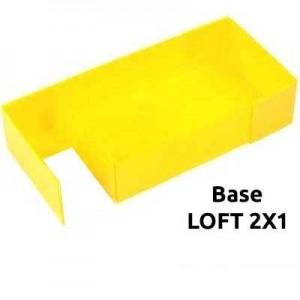 CagesCubes - Base Coroplast para LOFT de 2X1