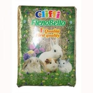 Cliffi Heno Alpino Fienobello Premium para roedores 1 Kg