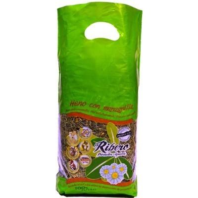 Ribero Heno de Festuca con Manzanilla para roedores 500 gr