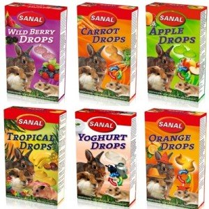 Sanal Drops Golosinas para roedores