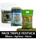 PACK - HENO TRIPLE FESTUCA
