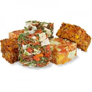 JR FARM Tacos de vegetales para roedores