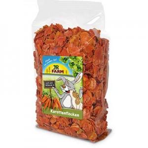 JR FARM Copos de Zanahoria para conejos y cobayas
