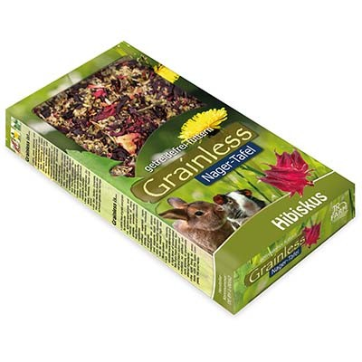 JR FARM Grainless snack tabla de Hibisco para roedores