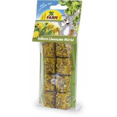 JR FARM Cubos de diente de león de grano entero para conejos y roedores