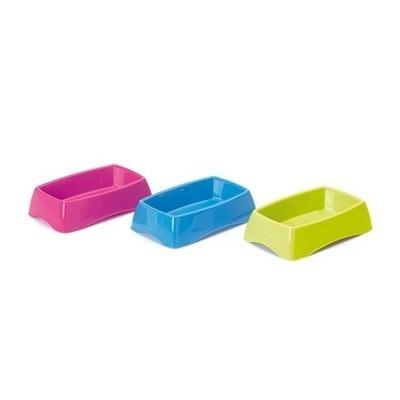Savic Comedero de plastico rectangular Brush para pequeños roedores