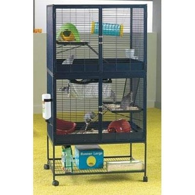 Savic Jaula Royal Suite Doble para chinchillas