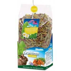 JR FARM Pienso Grainless Health Complete para conejos enanos 600 grs