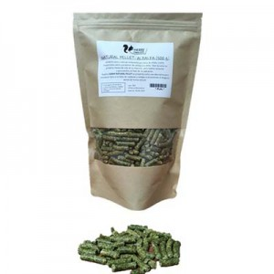 Herre nutricion animal Heno de Alfalfa en pellets para conejos y cobayas