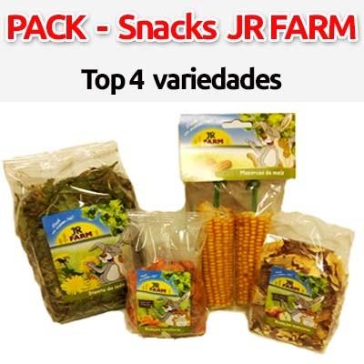 pack jr farm hierbas frutas snack para conejos