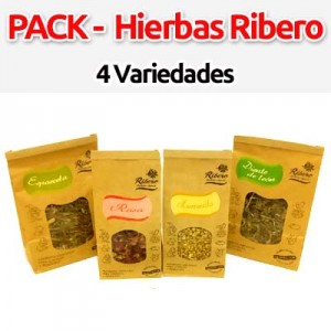 pack hierbas de ribero para conejos y roedores