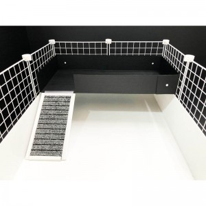CagesCubes - LEVEL LOFT 2x1 con rampa para Jaulas CyC