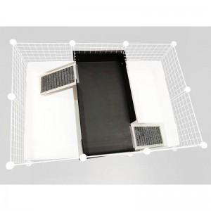 CagesCubes - LEVEL PLAYGROUND 2x1 con 2 rampas para Jaulas CyC