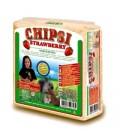 Viruta para hamsters y pequeños roedores CHIPSI (Aroma Fresa)