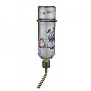 Trixie Bebedero de cristal Honey & Hopper para conejos y roedores
