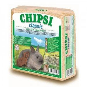 VIruta para hamsters y pequeños roedores CHIPSI 15 L (Aroma manzana)