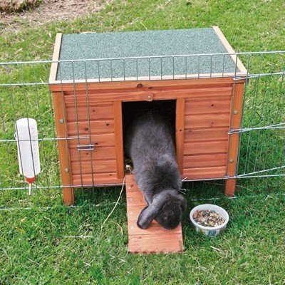 Trixie Casa exterior Natura para conejos