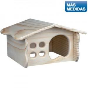 Trixie Casa de madera con ventana para conejos y cobayas (ref.61326)