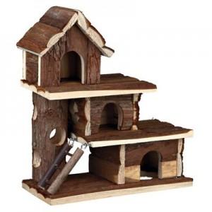 Trixie Casita TAMMO de 3 pisos hamsters y pequeños roedores