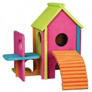 Trixie Casita RAINBOW para hamsters