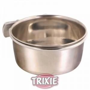 Trixie Comedero / bebedero de acero para roedores
