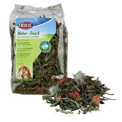 Trixie Snack natural para roedores con hierbas de Diente de Leon y manzana 100 gr