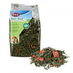 Trixie Snack natural para roedores con hierbas de Diente de Leon y zanahoria 100 gr