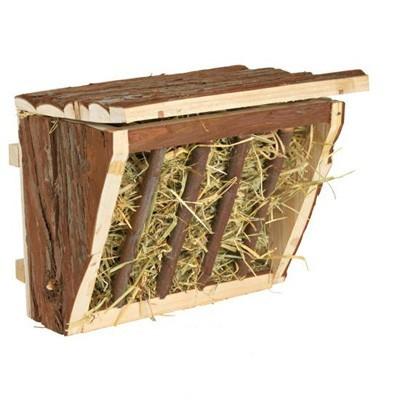 Trixie Henera de madera colgante para conejos y roedores