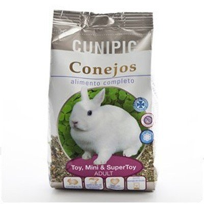Cunipic Alimento para Conejos adultos Toy, Mini y SuperToy