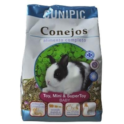 Cunipic Alimento para Conejos baby Toy, Mini y SuperToy 2.5 Kg