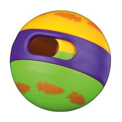 Trixie Juguete pelota dispensadora de golosionas para conejos y roedores