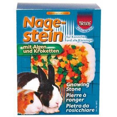 Trixie Bloque mineral para roer con verduras para hamsters y pequeños roedores