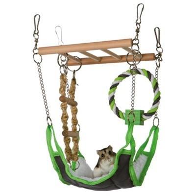 Trixie Puente en suspension con hamaca para hamsters