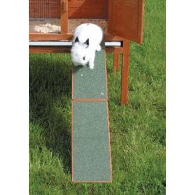 Trixie Rampa de madera antideslizante para conejos y cobayas