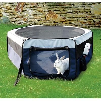 Trixie Parque recinto plegable de tela para conejos y cobayas