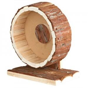 Trixie Rueda giratoria de ejercicio para hamsters y ratones de madera