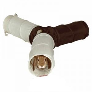 Trixie Juguete forma de tuneles con 4 entradas para conejos y cobayas