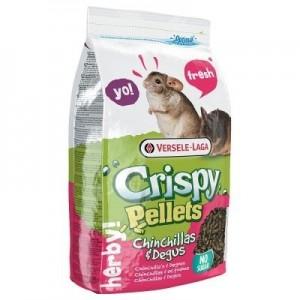 Versele Laga Crispy Pellets pienso para chinchillas y degús 1 Kg