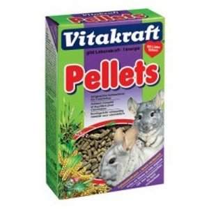Vitakraft Pienso de Pellets para chinchillas 1 Kg