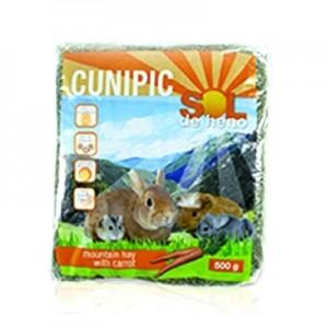 Cunipic Sol de Heno con Zanahoria para roedores 500 gr