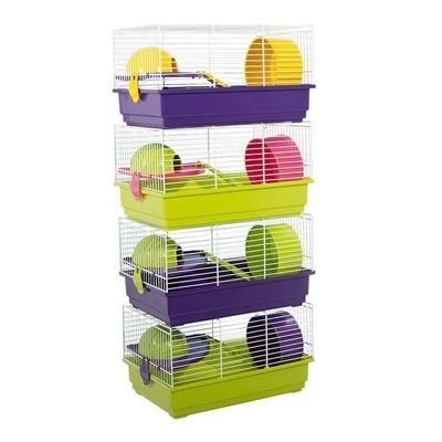 Jaula Voltrega de 1 piso para hamsters 914