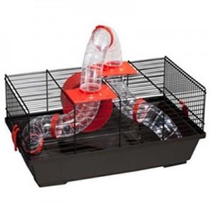 Jaula Voltrega con tubos para hamsters 937