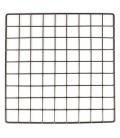 CagesCubes - Panel/Grid NEGRO de 35.5 x 35.5 cms (1 ud)